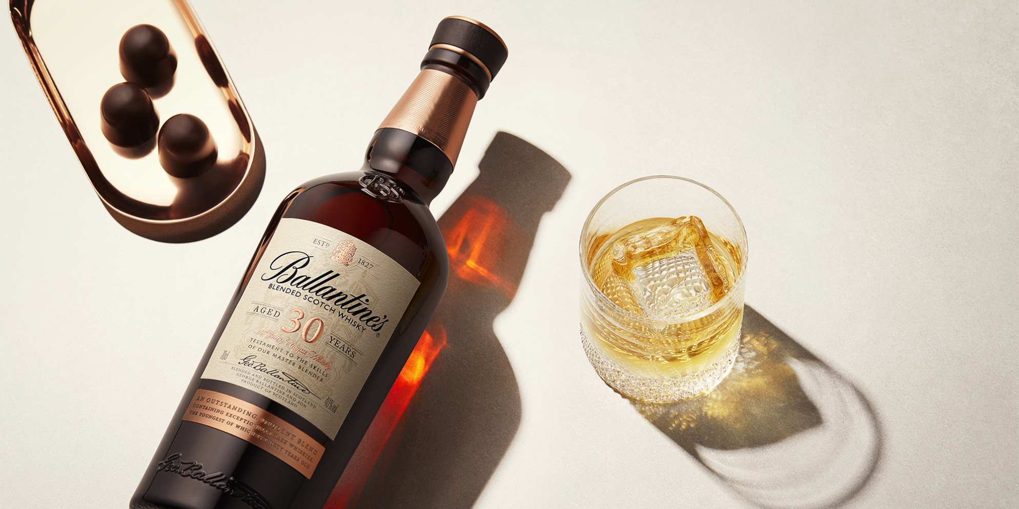 Ballantine's 30 Whisky Cocktails | 30 Year Old on the Rocks | Prestige | Ballantine's