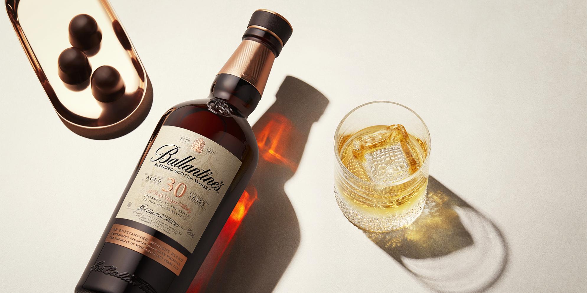 Ballantine's 30 Whisky Cocktails | 30 Year Old on the Rocks | Prestige | Ballantine's