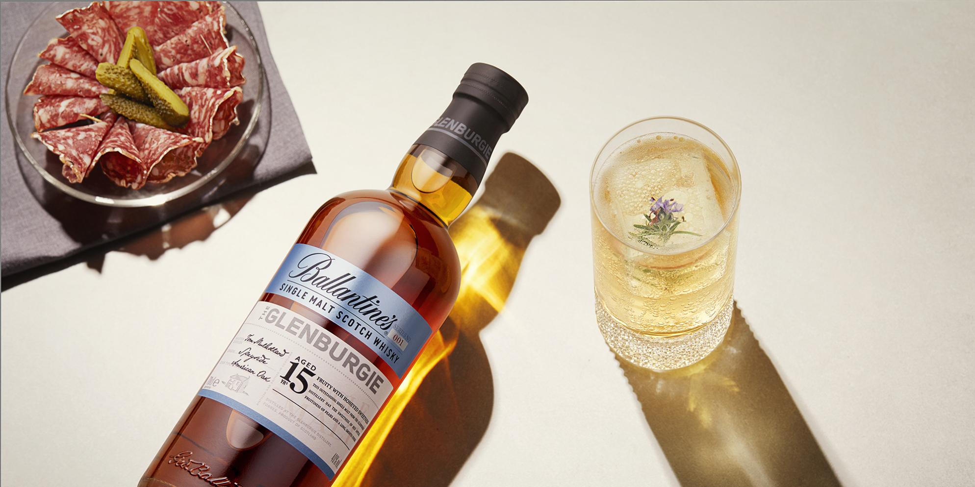 Ballantine's Glenburgie Single Malt Cocktails | Honey & Ginger Highball | Prestige | Ballantine's