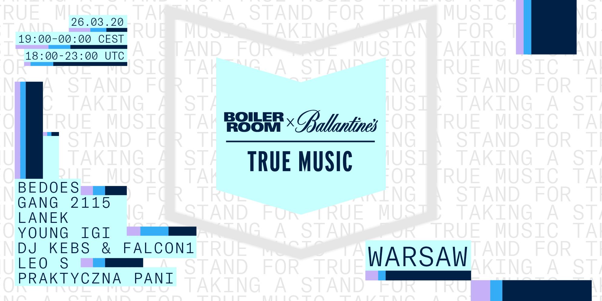 Boiler Room x Ballantine's | Warsaw