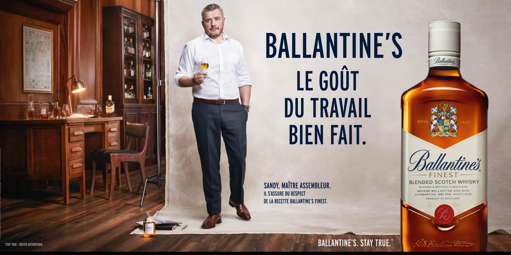 Ballantine's, Le Goût du Travail Bien Fait