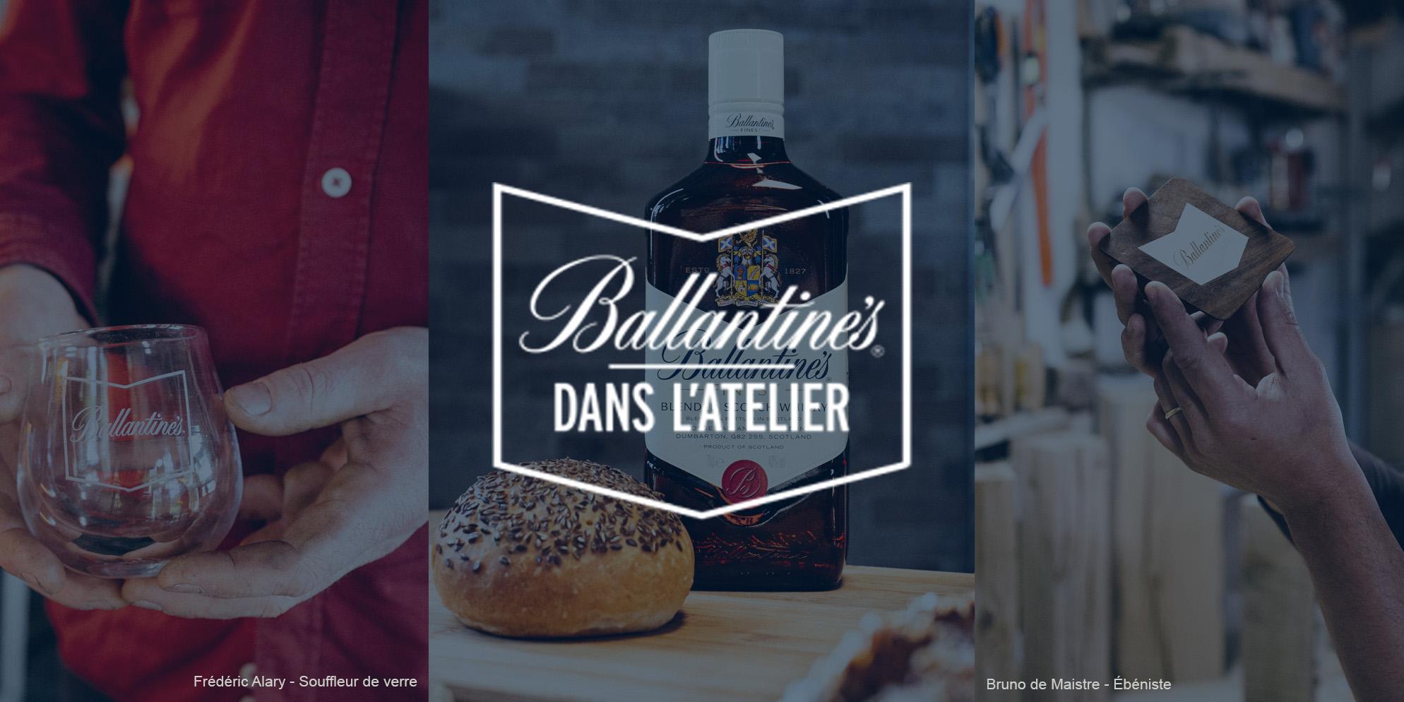 Ballantine's vous invite dans l'atelier