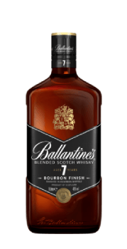 Ballantine's Scotch whisky - 7 Bourbon Finish