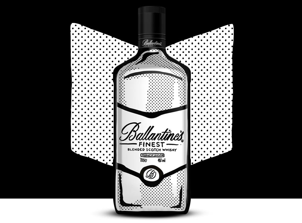 Ballantine's x Joshua Vides Blended Scotch Whisky