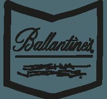Ballantine's x Joshua Vides Chevron logo
