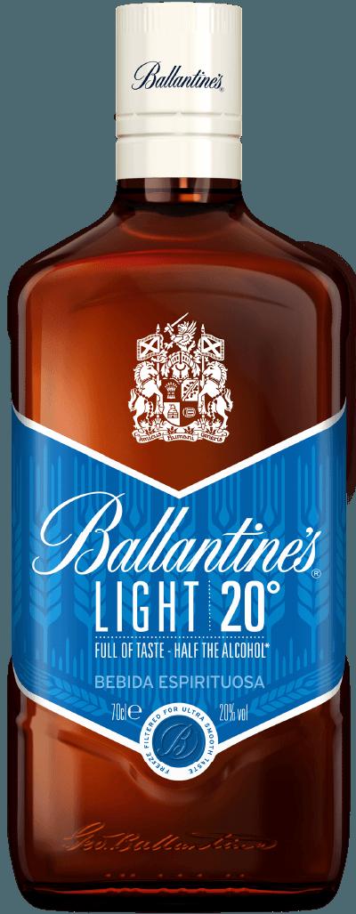 Ballantine's Light bottle
