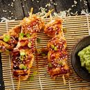 Teriyaki-broiler ja wasabi-kaste
