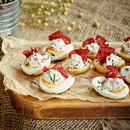 Täidetud kartulid ja munad