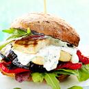 Tofu-aedviljaburger