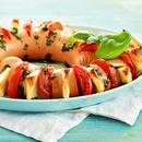 Tomati-halloumi ahjuvorst