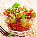 Marineeritud tomati-sibulasalat