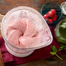 Pehme banaani-maasikajäätis