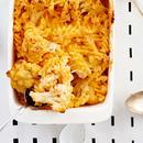 Makaronid juustu ja lillkapsaga
