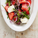 Meloni-maasikasalat