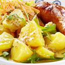 Sinepine kartulisalat