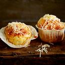 Kolme juustu muffinid