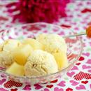 Ananassi-kohupiimajäätis