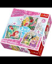 Puzzle Disney 3in1