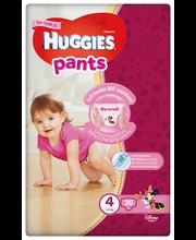 Huggies püksmähkmed Pants 4, tüdrukule, 9-14 kg, 52 tk