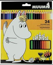 Värvipliiats Muumi 24 tk