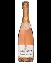 Gratien&Meyer Cremant De Loire Brut Rose KPN vahuvein 12%, 75...