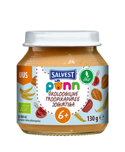 Öko Troopikapüree jogurtiga 130 g, alates 6-elukuust