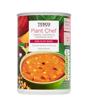 Tesco Plant Chef tomati-kikerherne-baklažaanisupp 400 g