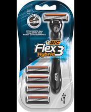 Raseerija Hybrid Flex3 +4 varutera