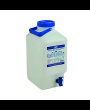 Veekanister kraaniga 10 l, valge plast