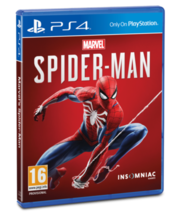 PS4 mäng Marvels Spiderman