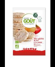 Good Gout õuna-riisivahvlid 40 g, öko, alates 10-elukuust