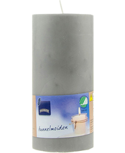 Lauaküünal 70x150 mm, hall steariin