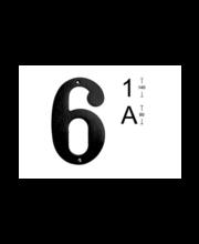 Habo majanumber 6, 140 mm, pruun messing