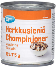 Šampinjonid soolvees 184/114 g
