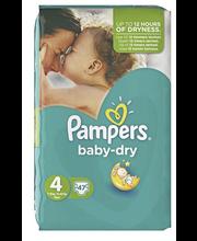 Pampers teipmähkmed Baby Dry 4, 9-14 kg, 47 tk