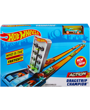 Hot Wheels Rajakomplekt Action Dragstrip