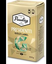 Filtri- ja presskannukohv Presidentti Gold 500 g