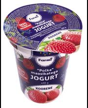 """Koorene jogurt """"Polka"""" maasikatega, 400 g"""