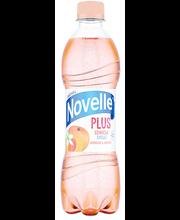 Novelle Plus vesi aprikoosi-jasmiini, 500 ml