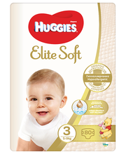 Huggies mähkmed Elite Soft 3, 5-9kg, 80 tk