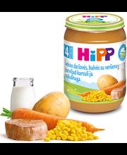 Hipp juurviljapüree kartuli-vasikalihaga 190 g, öko, alates 4...