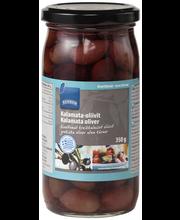 Kalamata oliivid kivideta 350/185 g