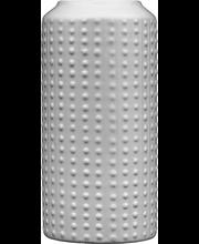 Vaas 24 cm, valge keraamika