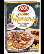 Axa Harmony hommikusöögihelbed troopiliste viljadega, 220 g