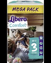 Libero teipmähkmed Comfort 3 Mega Pack, 5-9 kg, 88 tk