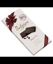 Belgian tume šokolaad 85% 100g