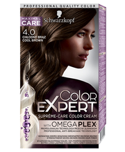 Juuksevärv color expert 4-0 jahe pruun