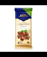 Kalev tervete metsapähklitega piimašokolaad 100 g