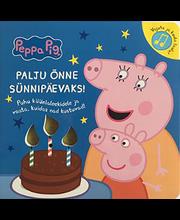 Põrsas Peppa. Palju õnne sünnipäevaks!