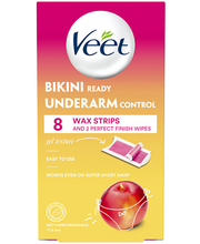 Vaharibad Wax Strips Bikini/Underarm 8 tk